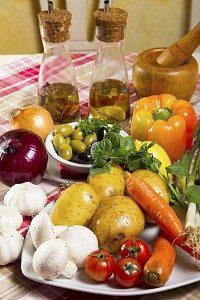 Entzündungshemmende Ernährung: Frische Zutaten